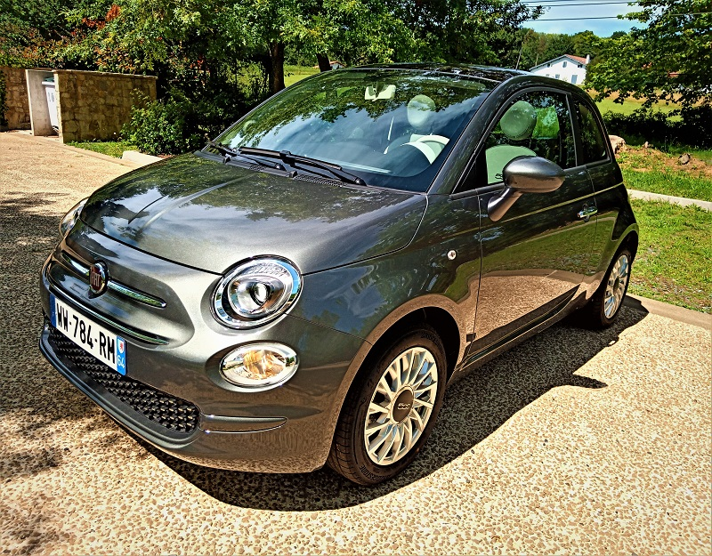 Fiat 500 Automatique Dualogic Groove Metal