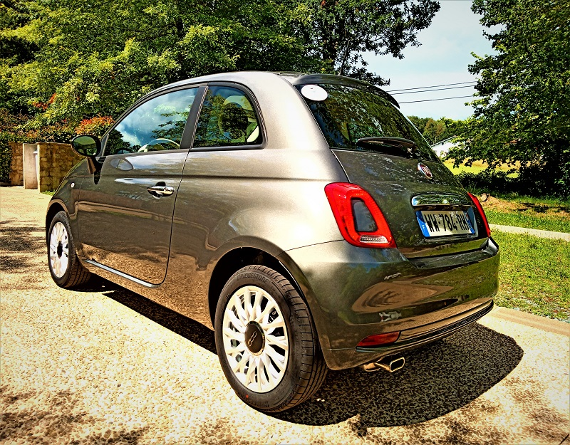 Fiat 500 Automatique Groove Metal