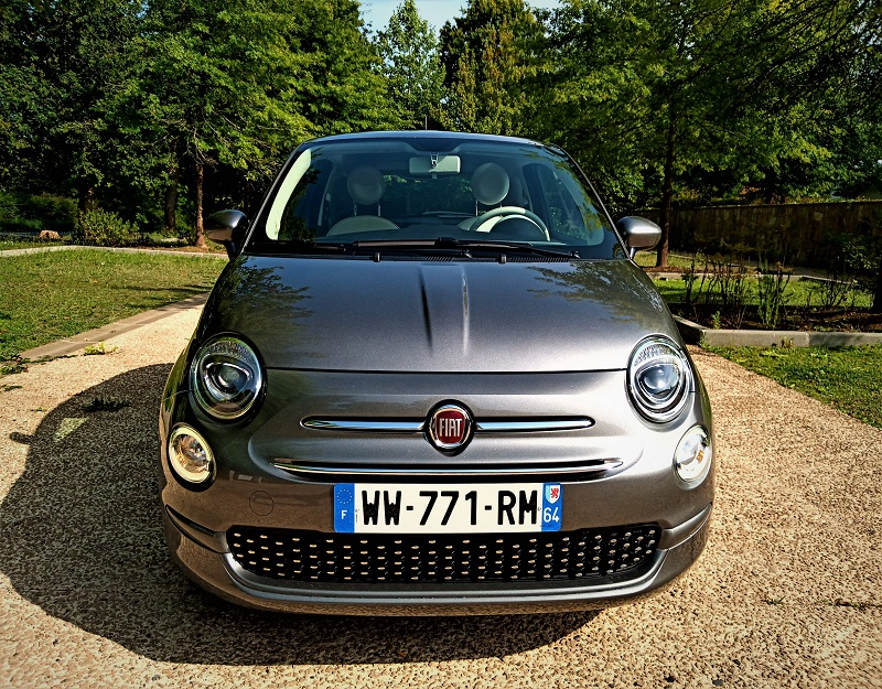 Fiat 500 Electroclash automatique face