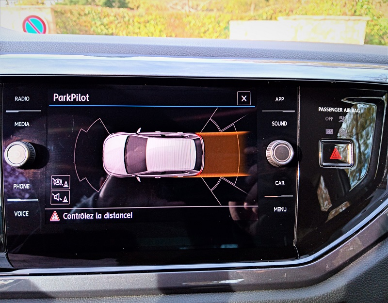 Polo VI IQ Drive interieur PArk Assist Tsi 95