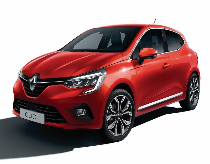 Renault-clio-5-Intens-rouge-flamme